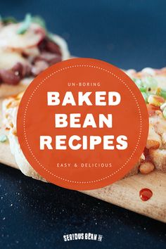 Spice up your meal routine with bean recipes that pack a punch. From flavors like Dr Pepper to Buffalo sauce, you& look forward to beans again. Baked Bean Recipes, Vegetable Recipes, Vegetarian Recipes, Beans Recipes, Soup Recipes, Dr Pepper, Sauce Buffalo, Grilling Recipes, Vegetarische Rezepte