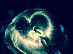 Heart Hairstyles, Heart, Painting, Haircut Designs, Hairdos, Paintings, Hair Styles, Draw, Haircut Styles