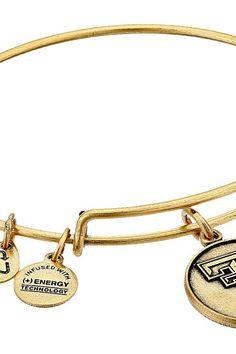 Alex and Ani Texas Tech University Logo Expandable Bangle (Gold) Bracelet - Alex and Ani, Texas Tech University Logo Expandable Bangle, AS15CLC05RG, Jewelry Bracelet General, Bracelet, Bracelet, Jewelry, Gift, - Street Fashion And Style Ideas