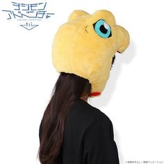 These Digimon Hats Are Basically Plushies You Wear On Your Head