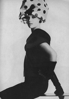 Veruschka, Vogue - March 1963 by Irving Penn