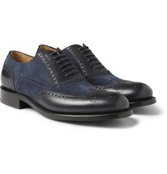 O'KeeffeAndriu Leather and Suede Brogues