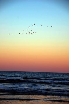St. Augustine Beach at Sunset