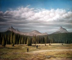 "A Practical Sense of Immortality 18"" X 24"" Pastel on Paper Original Artwork By Travis Wheeler"