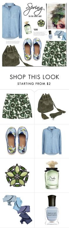 """""""Spring with Yoins"""" by mada-malureanu ❤ liked on Polyvore featuring Mother of Pearl, rag & bone, Dolce&Gabbana and Deborah Lippmann"""