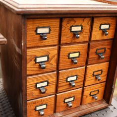 So my card catalog? It came with a locked door and a mystery...can you help me solve it?