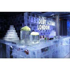 Absolut Ice Bar London~Coldest shots Ever!