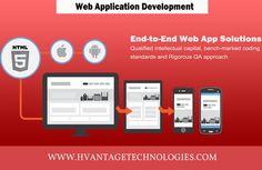 #WebApplication #Development at Hvantage Technologies : End-to-End Web App Solutions.