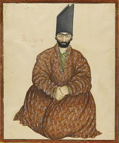A Seated Nobleman | by persian.painting