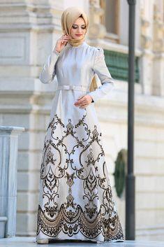 NEVA STYLE - Evening Dress - Black Hijab Dress 8184S