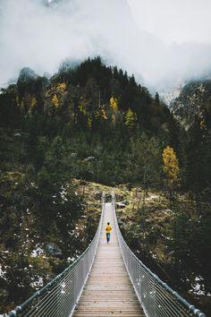 Crossing Bavarian Alps