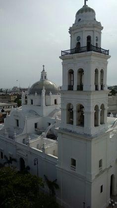 Catedral del puerto de Veracruz.