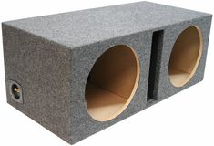 Dual 12 Inch Car Audio Vented Sub Box Ported Stereo Subwoofer Speaker Enclosure | Consumer Electronics, Vehicle Electronics & GPS, Car Audio | eBay!