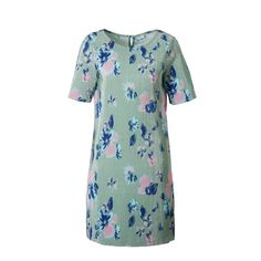 JACQUELINE DE YONG plissé jurk, Groe/blauw/roze Button Down Shirt, Men Casual, Mens Tops, Shirts, Fashion, Moda, Dress Shirt, Fashion Styles, Dress Shirts