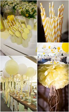 Boho Pins: Readers Request – Ideas and Inspiration for Your Yellow Wedding