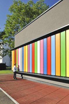 Kindergarten Kekec in Ljubljana, Slovenia by Arhitektura Jure Kotnik