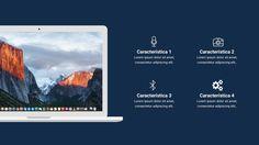 Template editável para PowerPoint - Apresentação Simplicidade