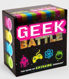 Geek Battle... would definitely be an epic drunken game