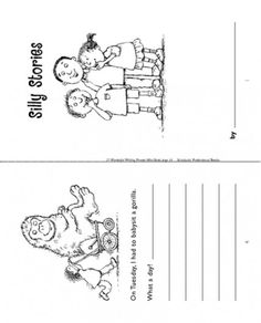 Tickle your child's funny bone while developing writing skills with this printable minibook. And explore more Scholastic printables and worksheets on writing. Pre Writing, Writing Skills, Writer Workshop, Workshop Ideas, Journal Writing Prompts, Teacher Lesson Plans, Writing Worksheets, Kids Education, Mini Books