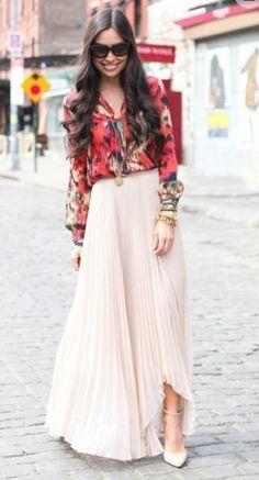 Falda larga #trends