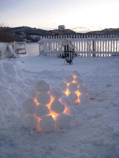 #Norwegian winter #cosiness.  We'll be trying this for our January BBQ!