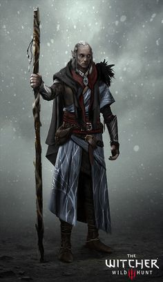 ArtStation - The Witcher 3: Avallac'h, Marek Madej