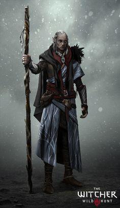 ArtStation - The Witcher 3: Avallac'h, Marek Madej