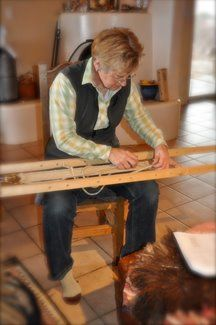 My Navajo Style Saddle Cinch Loom Pvc Pipe Looms