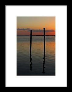 sunset, water, pier, sky, silhouette, reflection, pineland, florida, landscape, michiale schneider photography, interior decor, framed prints