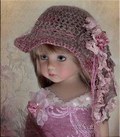 OOAK Hibicus Hat by Linda 4 Effner Little Darling Ellowyne Prudence BJD   eBay