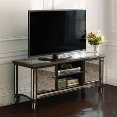 Isla Mirrored Tv Console | Arhaus