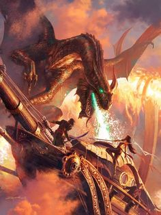 #Art of #Fantasy: Michael Komarck is an American artist and illustrator who specializes in digital paint. He has worked as an illustrator for the Star Wars Galaxies Trading Card Game by Sony Online Entertainment and has done illustrations for Magic: The Gathering and Hearthstone: Heroes of Warcraft, as well as Dungeons & Dragons. Michael has also illustrated comic books and book covers, most notably for authors Robert Aspirin and George RR Martin, among many others.