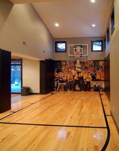 2010 Tour of Remodeled Homes modern home gym, Kaufman Construction, Iowa, via Houzz