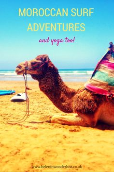 Moroccan Surf Adventures and Yoga Tamraght Morocco Helen in Wonderlust
