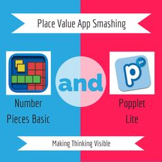 Place Value App Smashing with Popplet and Number Pieces apps.. - http://zigzaggingedtech.blogspot.com/2014/01/place-value-app-smash.html