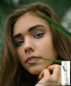NON CBD Lash and Brow Growth Serum Glam up your look with thicker, fuller eye la… - Modern Rimmel, Brow Growth Serum, How To Draw Eyelashes, Bold Brows, Prevent Wrinkles, Hair Repair, Ten, Hair Growth, Hair Treatments