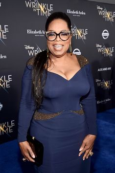 Oprah Winfrey Photos - Actor Oprah Winfrey arrives at the world premiere of Disney's 'A Wrinkle in Time' at the El Capitan Theatre in Hollywood CA, March - World Premier Of Disney's 'A Wrinkle In Time' Oprah Glasses, Dressed To The Nines, Celebs, Celebrities, Contemporary Fashion, Beautiful Black Women, Fashion Pictures, Plus Size Outfits, Marie