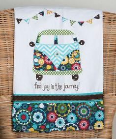 'Joy in the Journey' Tea Towel