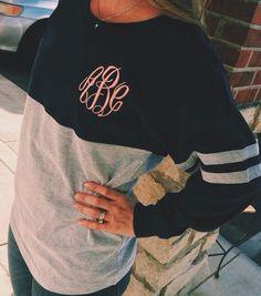 monogramed sweatshirts