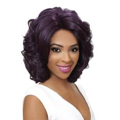 Hair Republic TRU Wig Synthetic Swiss Lace Front Deep Part Wig WIL-902