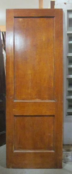 Elegant 2 Panel Maple Doors DKJ