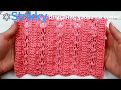 La cinta por los rayos la Nevadilla. La cinta turca chiné. | 05 - Ажур. | Postila Knitting Designs, Knitting Stitches, Knitting Projects, Lace Knitting Patterns, Knitting Videos, Hand Knitting, Le Point, Stitch Patterns, Youtube