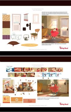 Red Riding Hood, Disney Visual Development Artwork    http://theconceptartblog.com/2012/10/10/red-riding-hood-curta-do-programa-de-talentos-disney/
