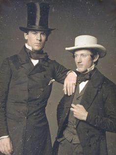 Daguerréotype américain années 1850