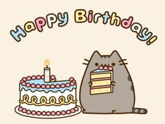 "This adorable card is the perfect way to say ""Happy Birthday"" to fans of Pusheen! Card measures x Inside card is blank. Content: Single Card option includes 1 card and 1 Pusheen envelope. option includes 5 cards and 5 Pusheen envelopes."