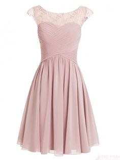New Arrival Cap Sleeve Prom Dress,Lovely Cute Prom Dress,Short Homecoming…