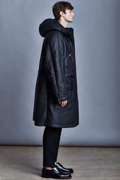 Kenzo: Black Lambskin Puffer Jacket | MEN'S FASHION | Pinterest