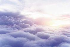 Poster au dessus des nuages
