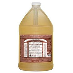Dr. Bronner's Fair Trade & Organic Castile Liquid Soap - (Eucalyptus, 1 Gallon)