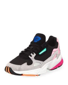 Women's Designer Sneakers at Neiman Marcus Shoes Online, Air Jordans, Fashion Shoes, Adidas Sneakers, Cute Outfits, Shoes Heels, Mixed Media, Leather, Neiman Marcus